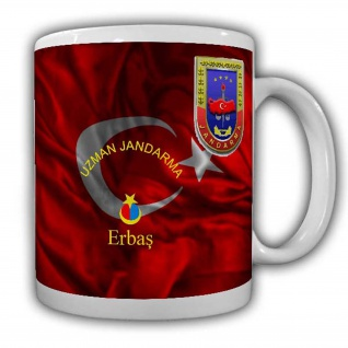 Uzman Janddarma Erbas Tasse Kaffeebecher Militär Türkey Türkei Einheit #22641