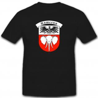 Deutsch Kamerun Deutschland Deutsche Kolonie Wappen Kamerun - T Shirt #7544