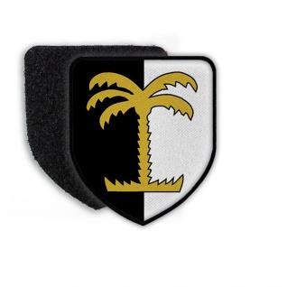 Patch Klett Flausch PzGrenBtl 33 Panzer Bataillon Bundeswehr Wappen #22351