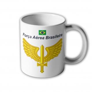 Forca Aérea Brasileira Brasilien Air Force Luftwaffe Wappen Abzeichen #33394