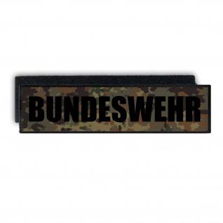 Bundeswehr Rücken Patch Aufnäher Tarn BW Militär Armee 28x7cm #33810