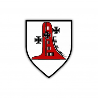 Aufkleber/Sticker 1.Minensuchgeschwader Wappen Abzeichen Marine 7x6cm A1223