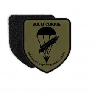 Patch / Aufnäher - Suum Cuique Luftlandeunterstützungsbataillon Bund Bw #12208