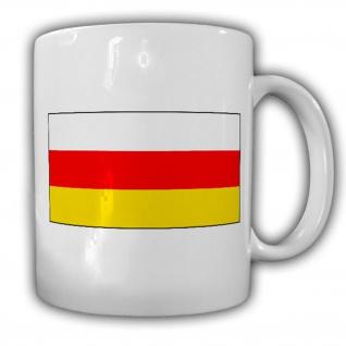 Tasse Südossetien Fahne Flagge Kaffee Becher #13924