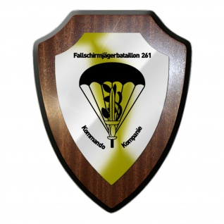 FschJgBtl 261 Fallschirmjäger Bataillon BW Militär Heer FschJg Wandschild #27312