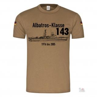 BW Tropen Albatros Klasse 143 Flugkörper-Schnellboot Bundesmarine Marine #22818