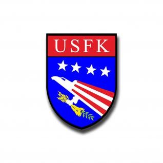 Aufkleber/Sticker US Forces Korea Wappen Militär Abzeichen US-Armee 7x5cm A1053