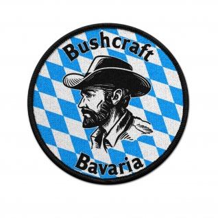 Patch Bushcraft Bavaria Ausrüstung Survival Abenteuer Outdoor Klett #36605