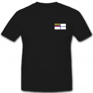 Litauische Marine Litauen Brustwappen Logo Militär - T Shirt #12139