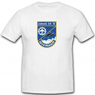 JaboG 34 A Wtg Wa Stff Tornados Flugzeuge Flieger Luftwaffe - T Shirt #8525