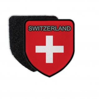 Swiss PatchFlagge Aufnäher Abzeichen Landesflagge Schweitz#37206