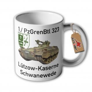 Tasse 1 Panzergrenadierbataillon 323 PzGrenBtl Kompanie Schwanewede #34180