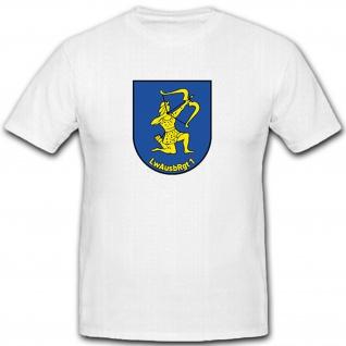LwAusbRgt 1 Luftwaffe Ausbildungs Regiment 1 Schütze Bundeswehr- T Shirt #12000
