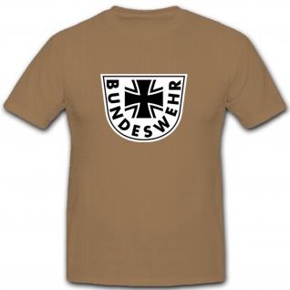 Bundeswehr Logo - Deutschland Wappen Abzeichen Emblem Insignia - T Shirt #10909