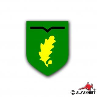 Aufkleber/Sticker Jägerregiment 1 Wappen JgRgt Abzeichen FschJg Heer 10x8cm A755