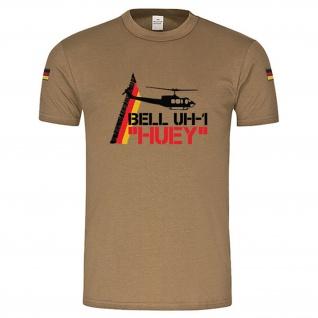 BW Tropen Bell UH-1 Huey Heli Iroquois original Tropenshirt Tropenhemd #14897