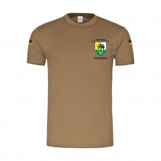 BW Tropen 2 PzGrenBtl 12 Osterode Panzergrenadier-Bataillon T-Shirt. #35478