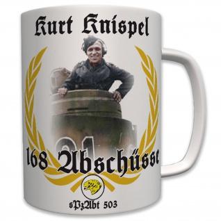 Militär Tiger Panzer Kurt Knispel Deutschland Wk Panzerkommandant - Tasse #6373