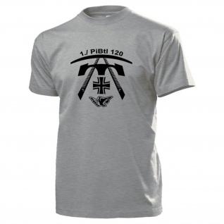 1 Kompanie PiBtl 120 Pionier Bataillon Pionierbataillon Dörverden T Shirt #15655