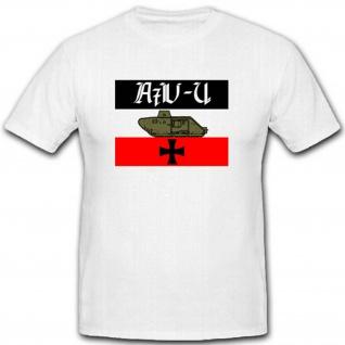 A7v U Sturmpanzerwagen WK Kaiserreich Deutschland Fahne T Shirt #2538