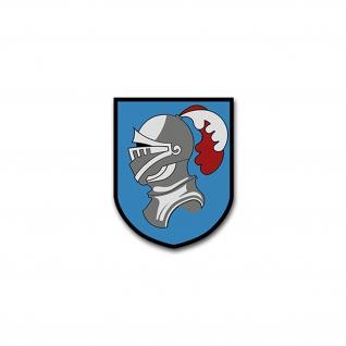 Aufkleber/Sticker JG4 Jagdgeschwader Militär Luftwaffe Wappen 6x7cm A2135