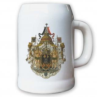 Krug / Bierkrug 0, 5l - Monarchie Herzog Adel Weimarer Republik Deutsch #9448