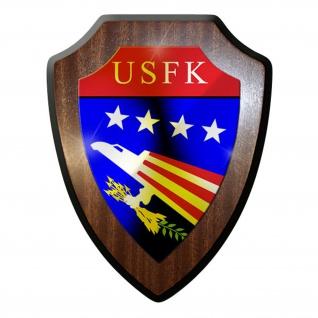 Wappenschild- USFK Force Korea USA Emblem Wappen Abzeichen Militär Deko #8953