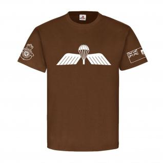 The Royal Bermuda Regiment Dutch Para Wings British Army - T Shirt #18469