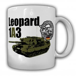 Tasse Leo 1A3 Panzer Bundeswehr Leopard Leo1 Reservist Fahrer Kommandant #17509