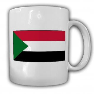 Tasse Republik Sudan Fahne Flagge Kaffee Becher #13922