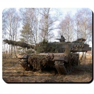 Leopard 2A4 Tarnung Bundeswehr Kampfpanzer Leo Panzer Btl - Mauspad #9765