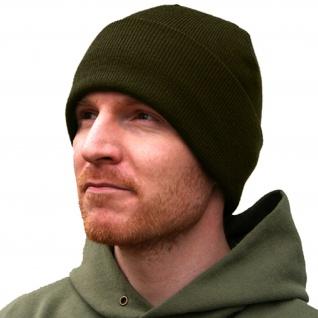 Mütze 3M Thinsulate Lightweight Hat Olivgrün Militär Kopfbedeckung Blanko #11341