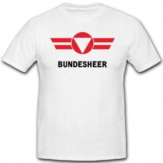 Wappen Logo Militär Emblem Österreichisches Bundesheer T Shirt #3471