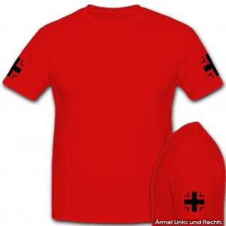 EK Balkenkreuz Bundeswehr Bw Militär Hoheitsabzeichen Preußen - T Shirt #2995