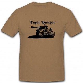 Wk Tiger Panzer Wh Action Wunder Waffe Superwaffe T Shirt #3716