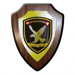 Wappenschild / Wandschild - Kommando Luftunterstützung Österreich #9738