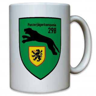 Panzerjägerkompanie 290 PzJgKp Deutschland Bundeswehr Bw Wappen - Tasse #10140