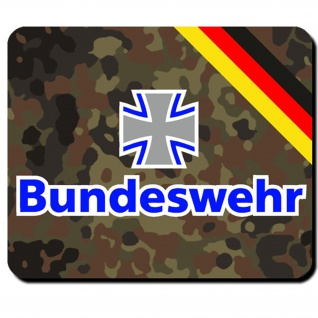 Bundeswehr Deutschland eisernes Kreuz BW Bund Dienst Emblem - Mauspad #8035