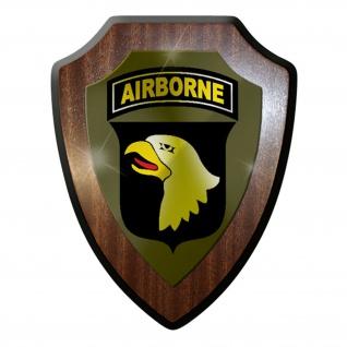 Wappenschild / Wandschild / Wappen - 101 US-Luftlandedivision Amerika #7056