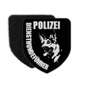 Patch Polizei Diensthundeführer Beamter Trainer Hund Schäferhund Wappen #30864