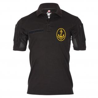 Tactical Poloshirt Alfa - Obermaat Bootsmann Rangabzeichen Marine DDR NVA #19174