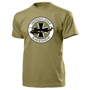 Bell UH 1 Heer Bw Bückeburg Fritzlar Wappen Abzeichen T Shirt #18093