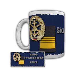 Tasse Marine Sicherungstruppe Admiral Schulschiff Deutschland Bundeswehr #29343