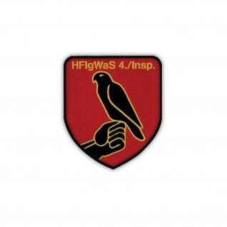 Patch HFlgWaS 4 Inspektion Heeresfliegerwaffenschule Bückenburg Wappen #18707