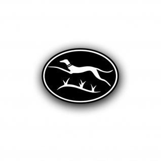 Aufkleber Windhund Division 116 Pz Div Panzer Logo 13x9cm #A4425