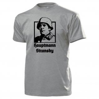 Hauptmann Stransky Steiner das Eiserne Kreuz preußischer Offizier T Shirt #17397