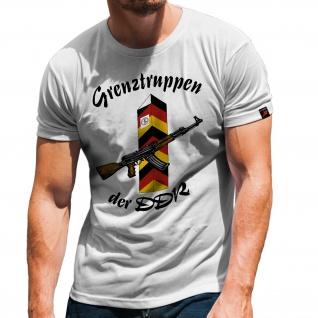 Grenztruppen DDR NVA GR-6 Grenzregiment Hans Kollwitz Honecker T-Shirt #31388