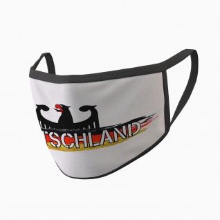 Deutschland Vaterland Germany Adler Gesicht Maske Nase #34665