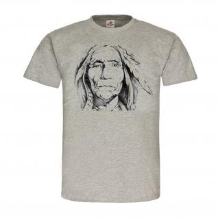 Indianer Völker Amerika USA Vorfahren Kult Legenden Vergangenheit T Shirt #25422