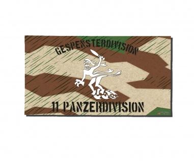Poster Gespensterdivision 11 Panzer-Division Splittertarn Plakat ab30x16cm#30256